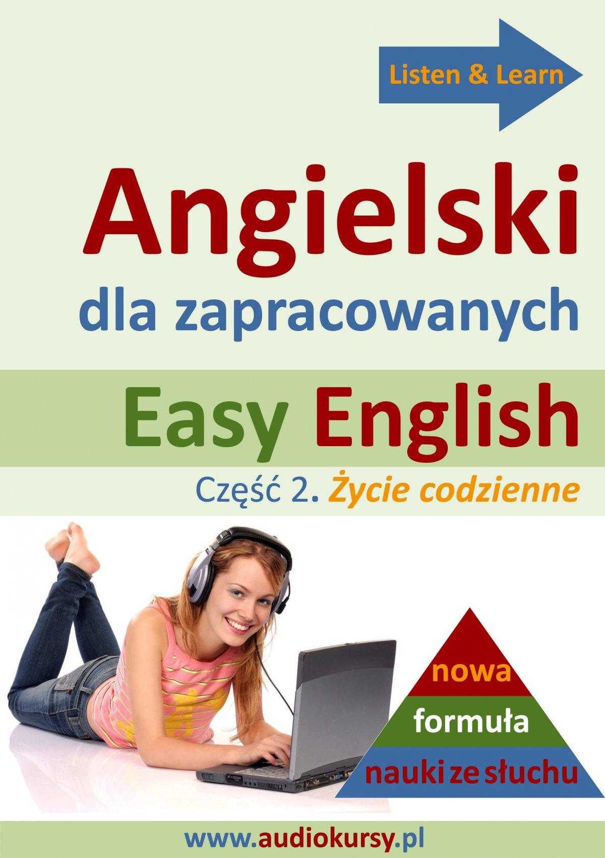 Easy English - Angielski dla zapracowanych 2 - Audiobook (Książka audio MP3) do pobrania w całości w archiwum ZIP