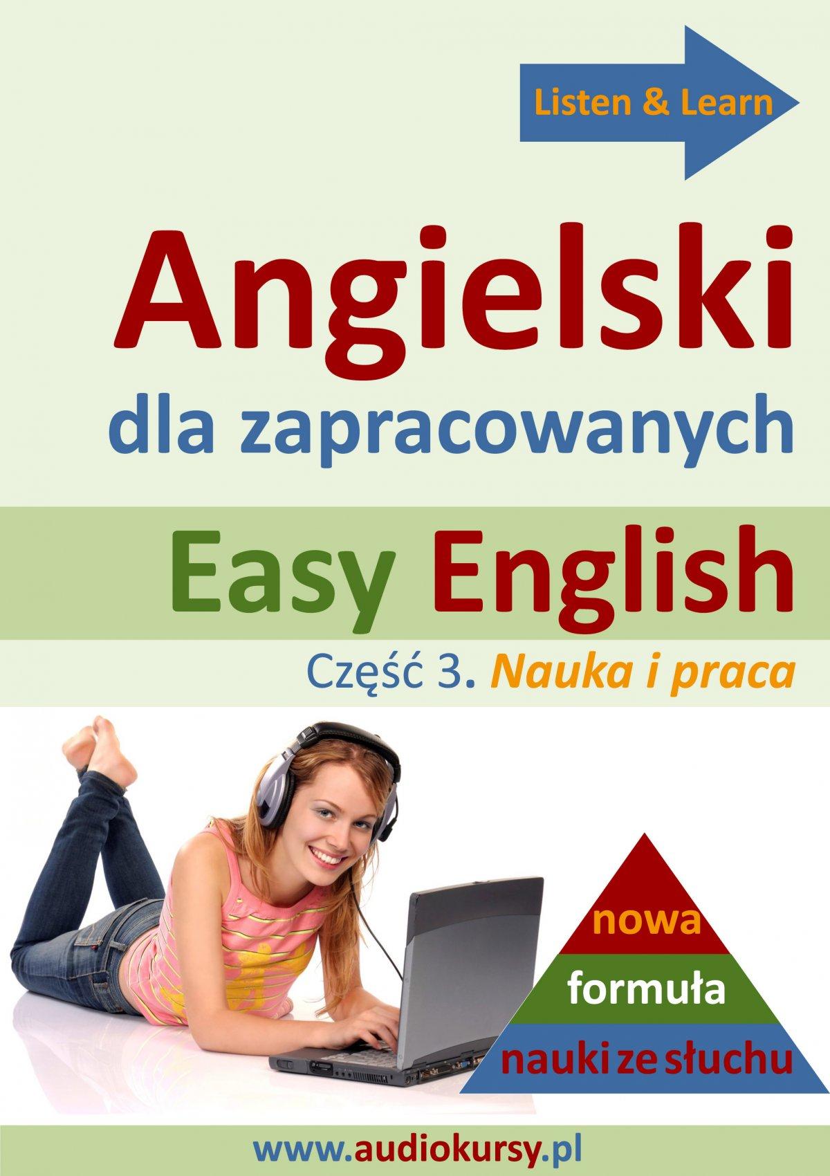 Easy English - Angielski dla zapracowanych 3 - Audiobook (Książka audio MP3) do pobrania w całości w archiwum ZIP