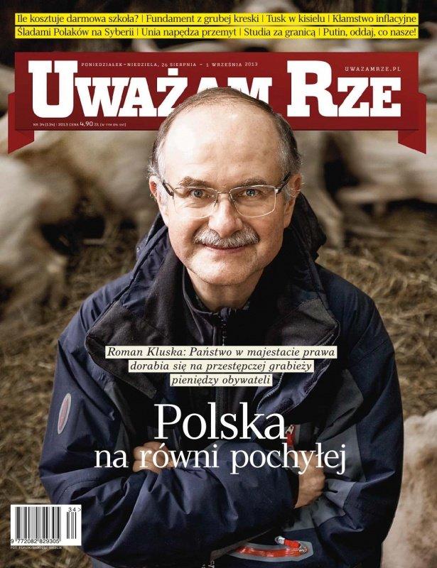 """""""Uważam Rze. Inaczej pisane"""" nr 34/2013 - Ebook (Książka PDF) do pobrania w formacie PDF"""
