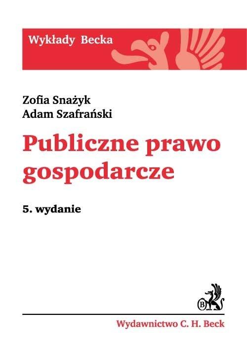 Publiczne prawo gospodarcze - Ebook (Książka PDF) do pobrania w formacie PDF