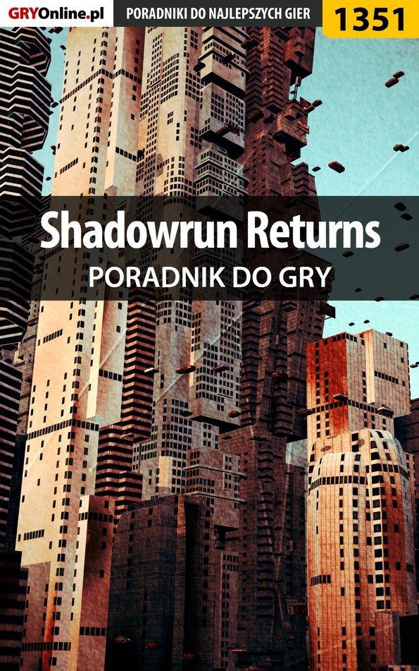 Shadowrun Returns - poradnik do gry - Ebook (Książka PDF) do pobrania w formacie PDF