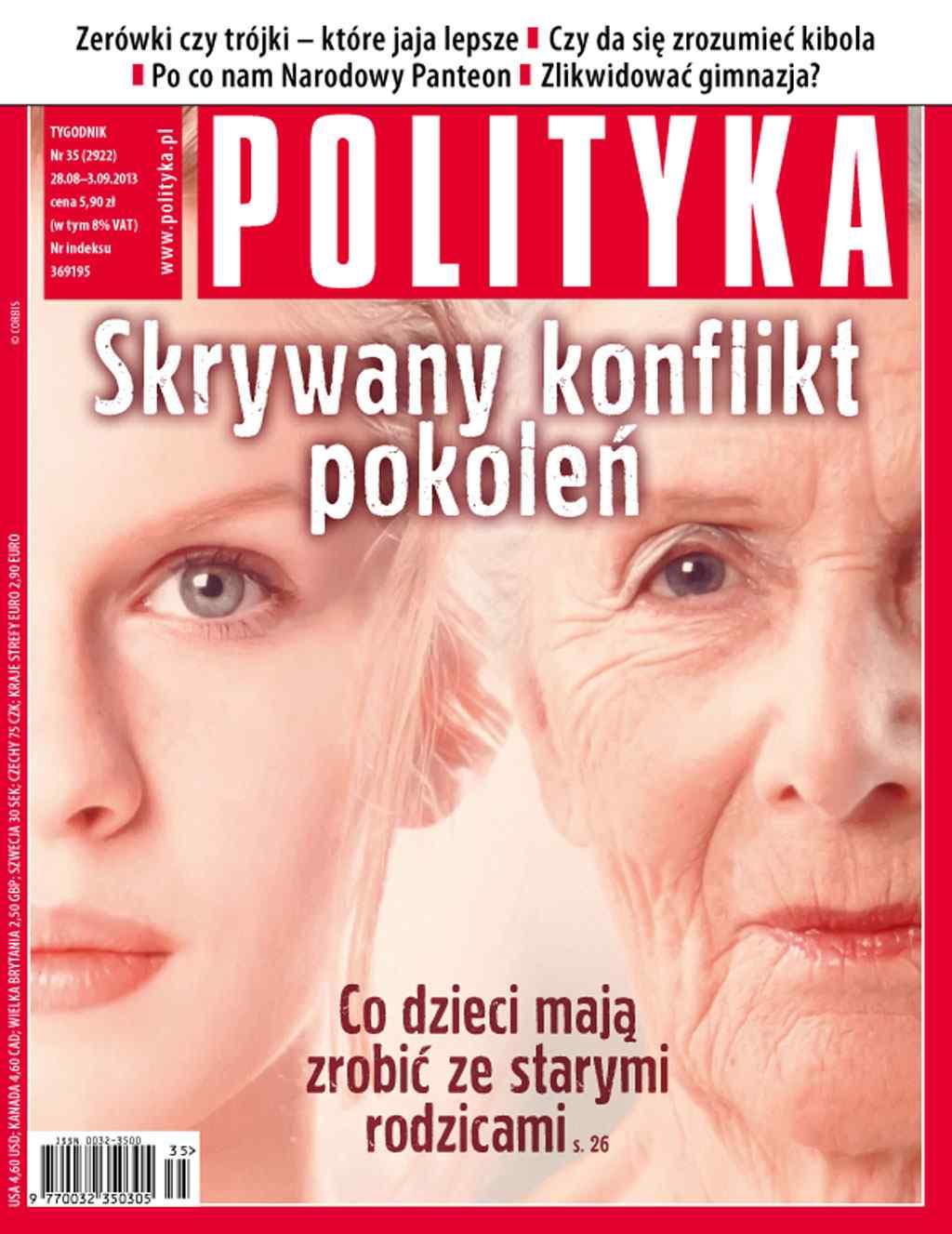 Polityka nr 35/2013 - Ebook (Książka PDF) do pobrania w formacie PDF