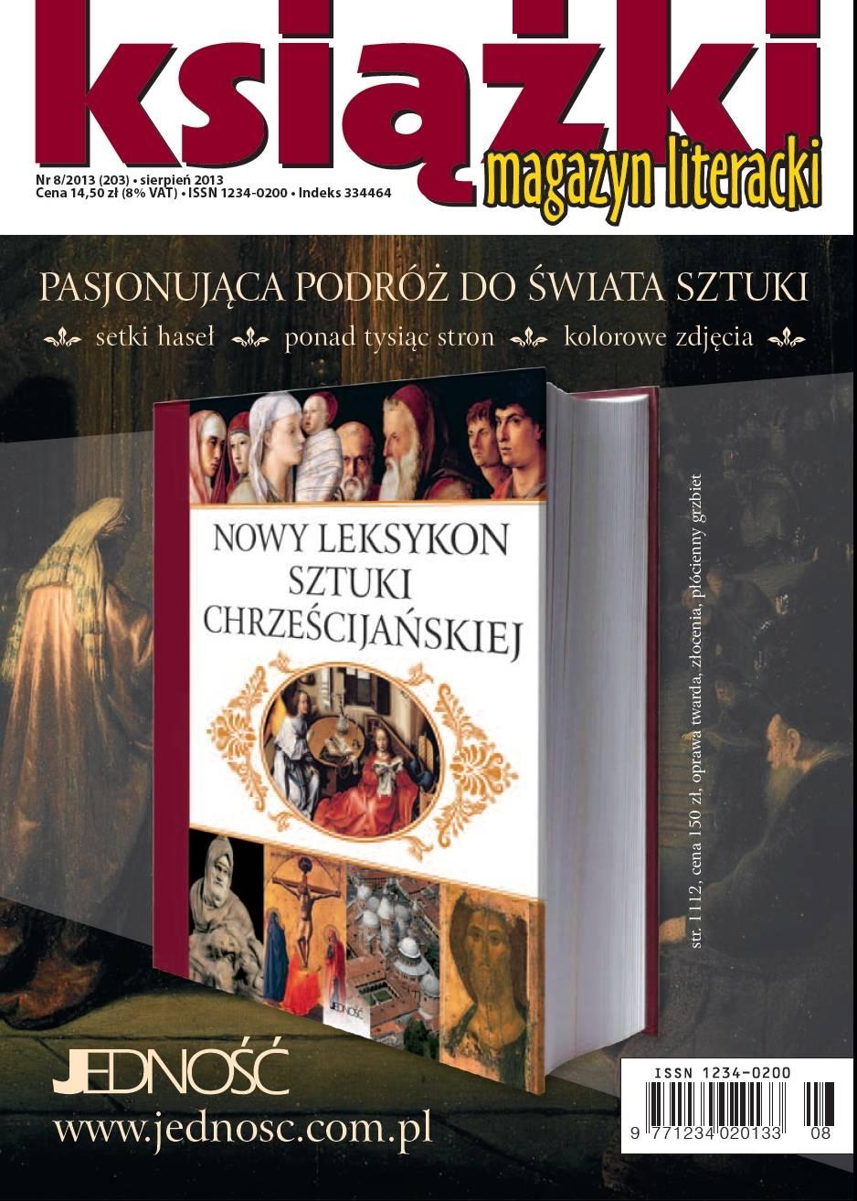 Magazyn Literacki KSIĄŻKI nr 8/2013 - Ebook (Książka PDF) do pobrania w formacie PDF