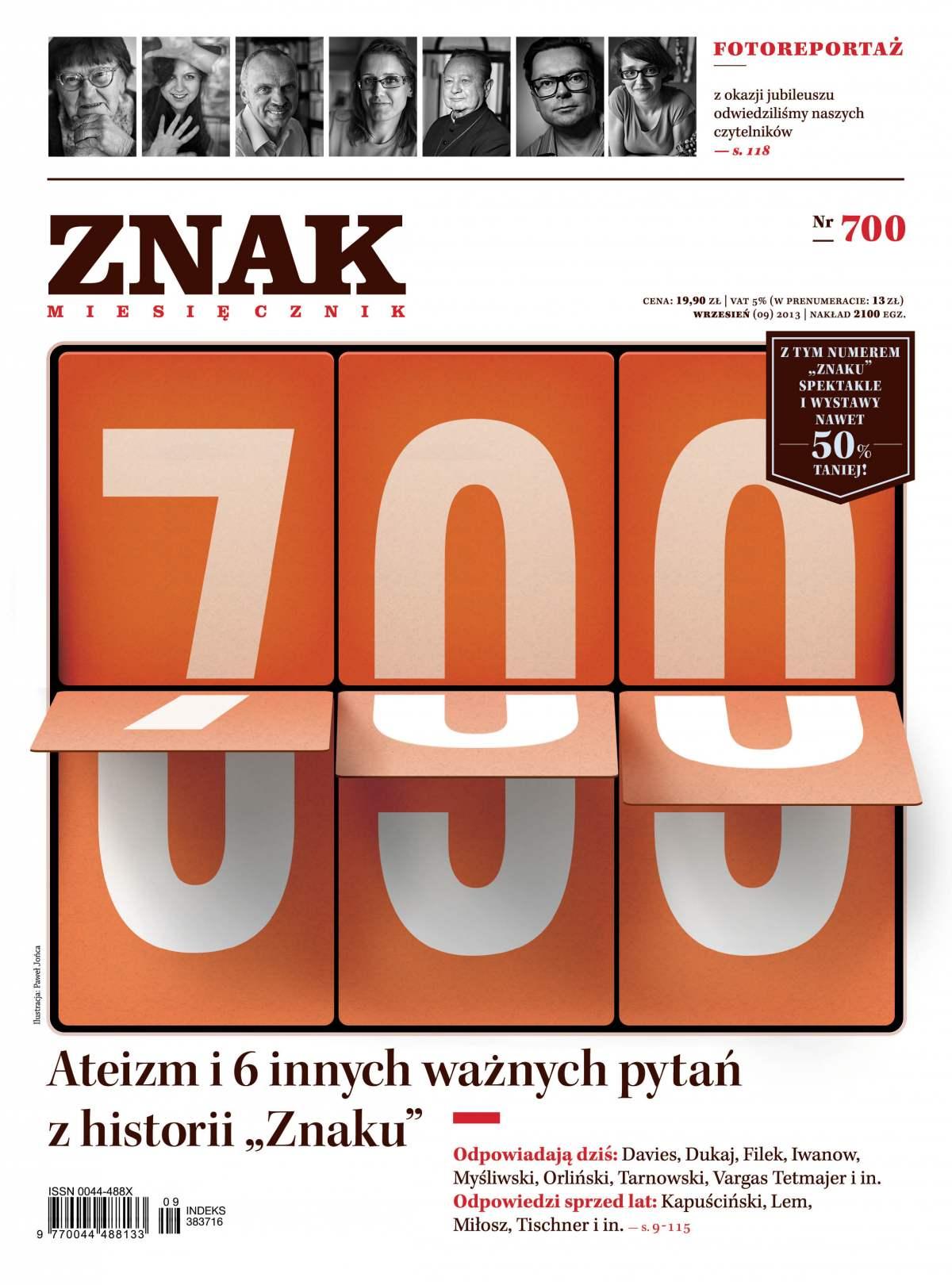 Miesięcznik Znak. Wrzesień 2013 - Ebook (Książka PDF) do pobrania w formacie PDF