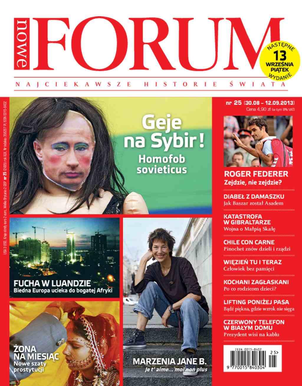 Forum nr 25/2013 - Ebook (Książka PDF) do pobrania w formacie PDF