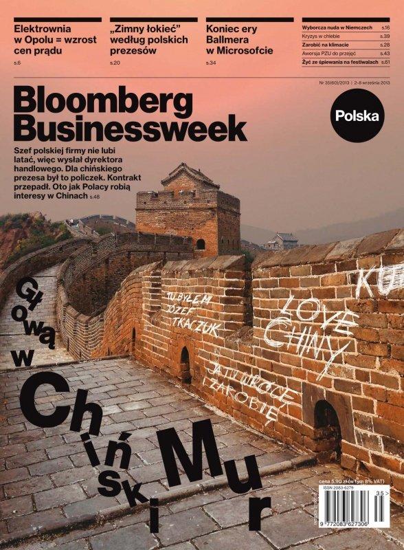 """""""Bloomberg Businessweek"""" wydanie nr 35/13 - Ebook (Książka PDF) do pobrania w formacie PDF"""