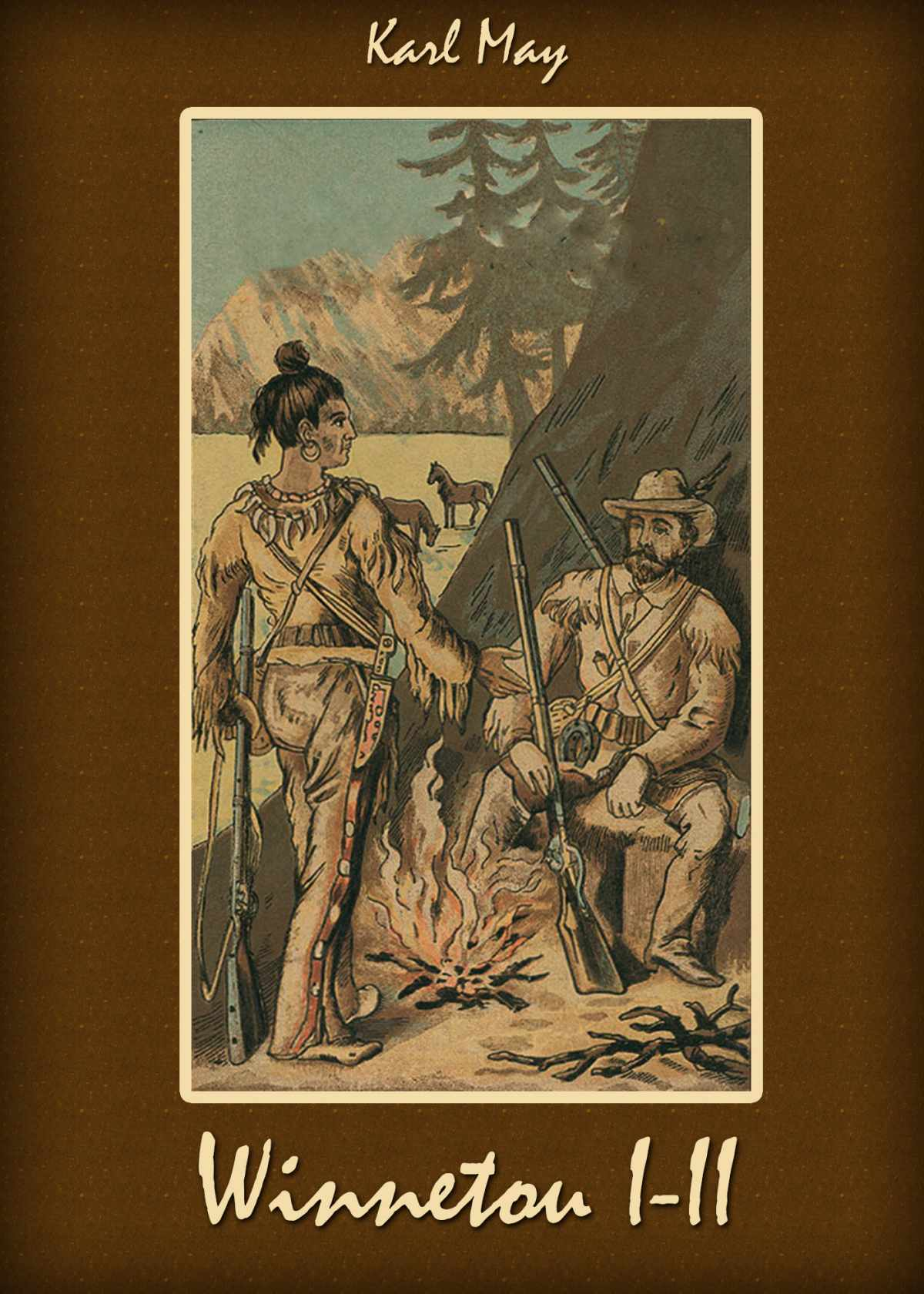 Winnetou I-II - Ebook (Książka na Kindle) do pobrania w formacie MOBI