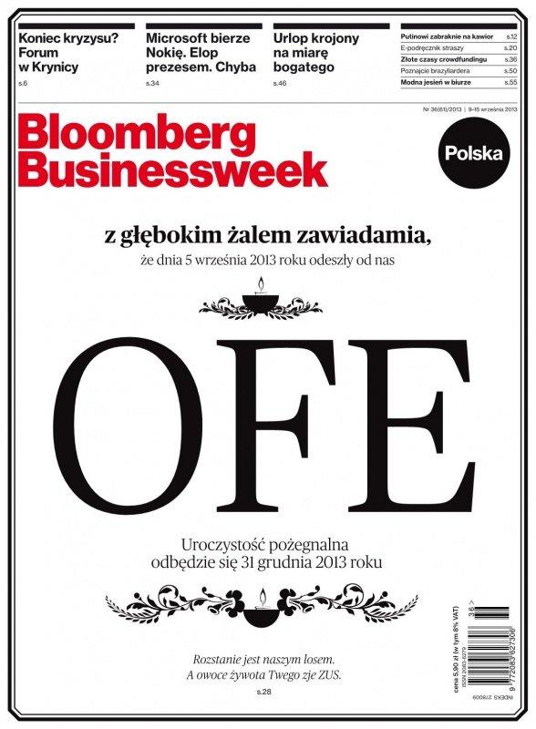 """""""Bloomberg Businessweek"""" wydanie nr 36/13 - Ebook (Książka PDF) do pobrania w formacie PDF"""