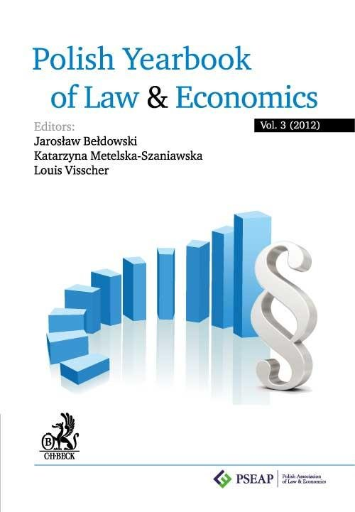 Polish Yearbook of Law and Economics. Vol. 3 (2012) - Ebook (Książka PDF) do pobrania w formacie PDF