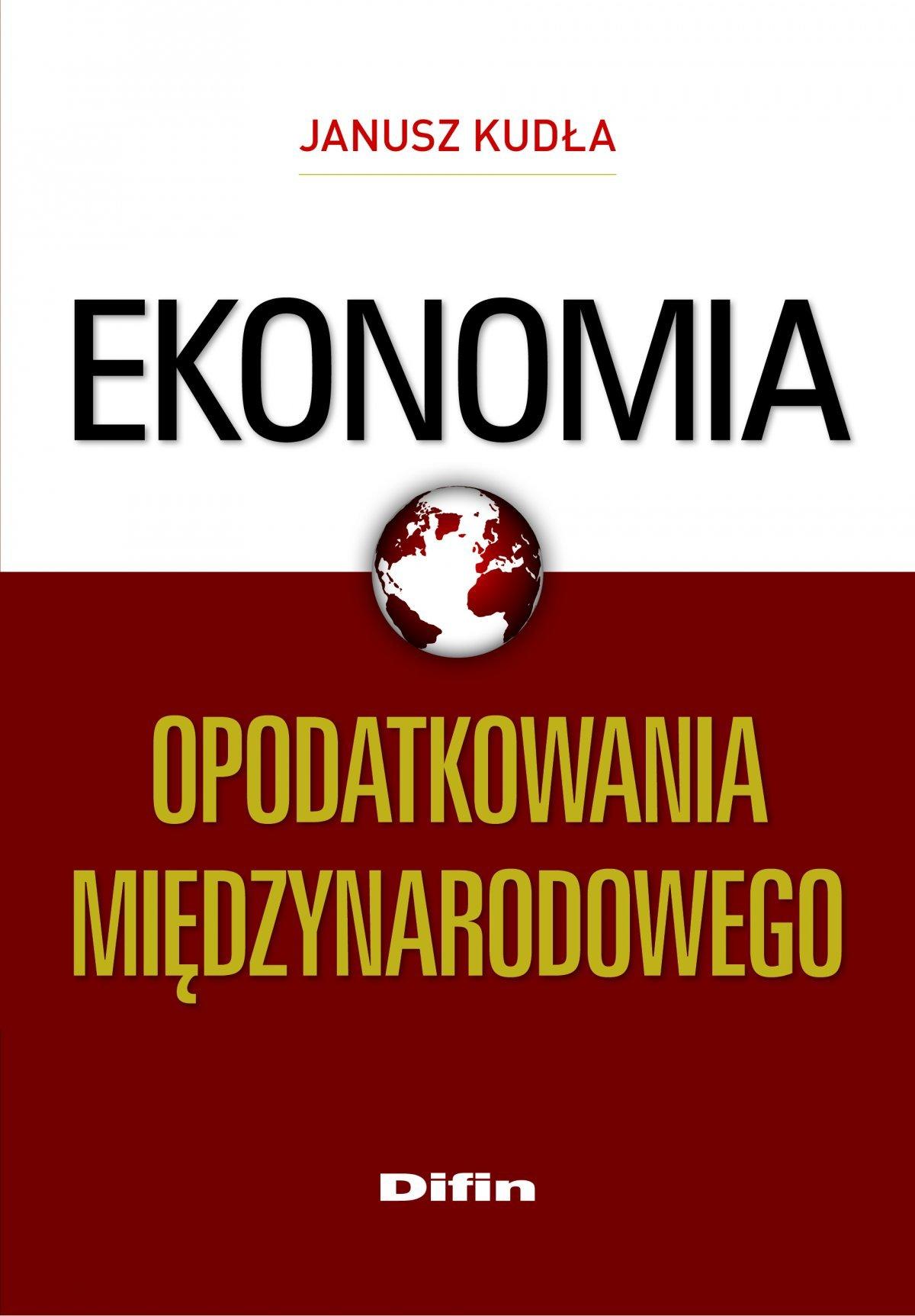 Ekonomia opodatkowania międzynarodowego - Ebook (Książka na Kindle) do pobrania w formacie MOBI