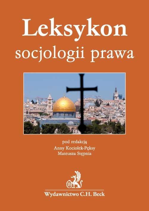 Leksykon socjologii prawa - Ebook (Książka PDF) do pobrania w formacie PDF