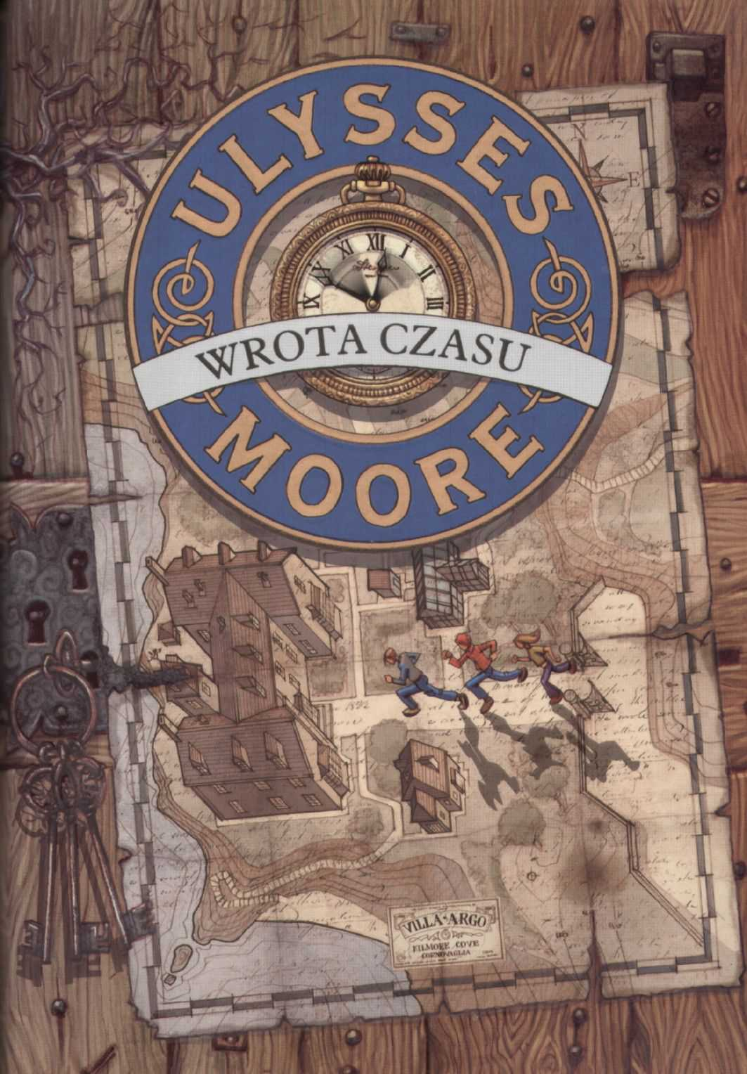 Ulysses Moore. Tom 1. Wrota czasu - Ebook (Książka EPUB) do pobrania w formacie EPUB