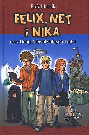 Felix, Net i Nika oraz Gang Niewidzialnych Ludzi - Ebook (Książka na Kindle) do pobrania w formacie MOBI