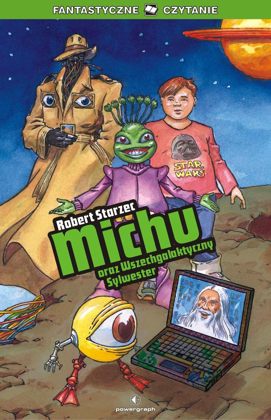 Michu oraz Wszechgalaktyczny Sylwester - Ebook (Książka na Kindle) do pobrania w formacie MOBI