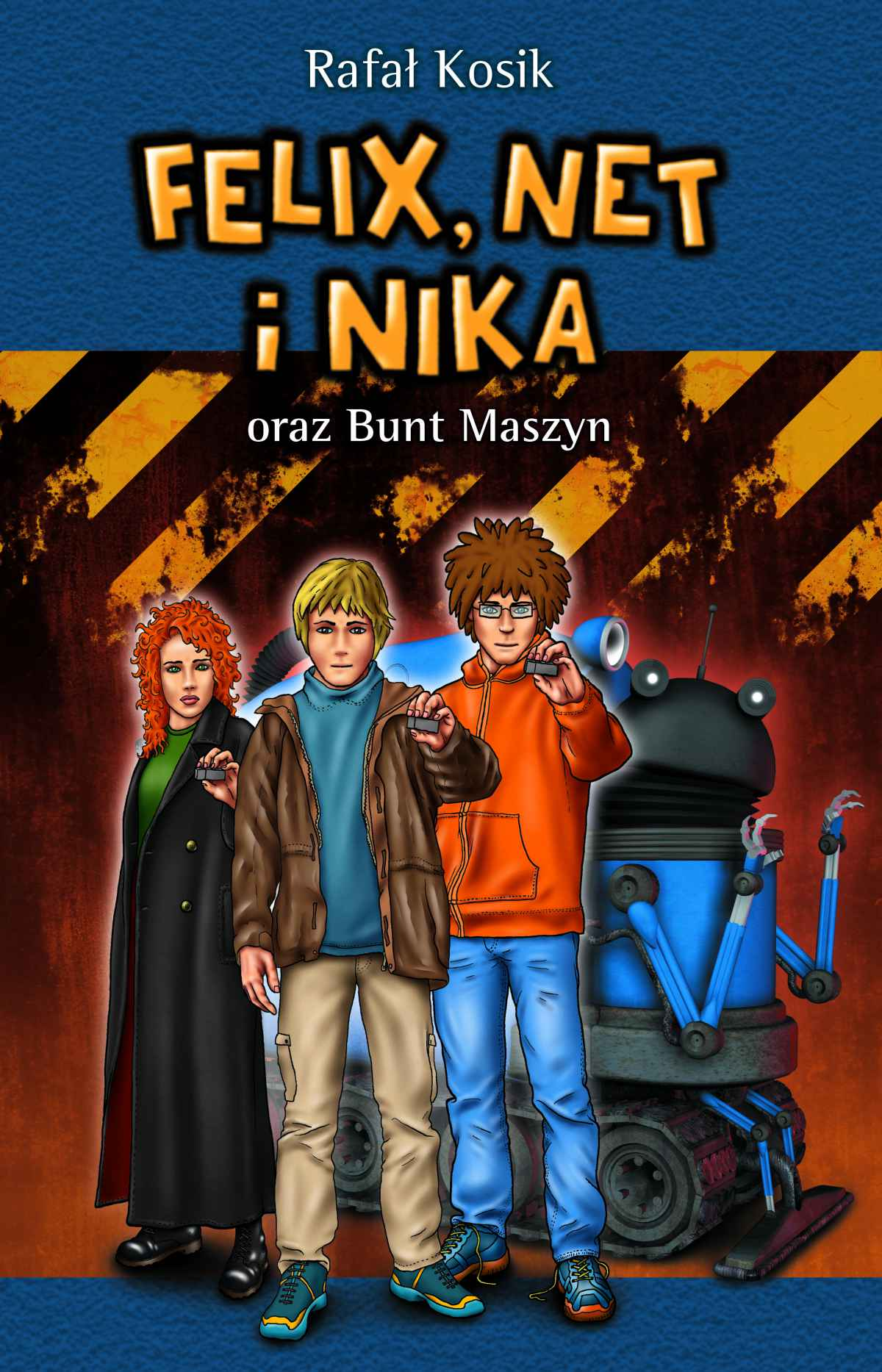 Felix, Net i Nika oraz Bunt Maszyn - Ebook (Książka na Kindle) do pobrania w formacie MOBI