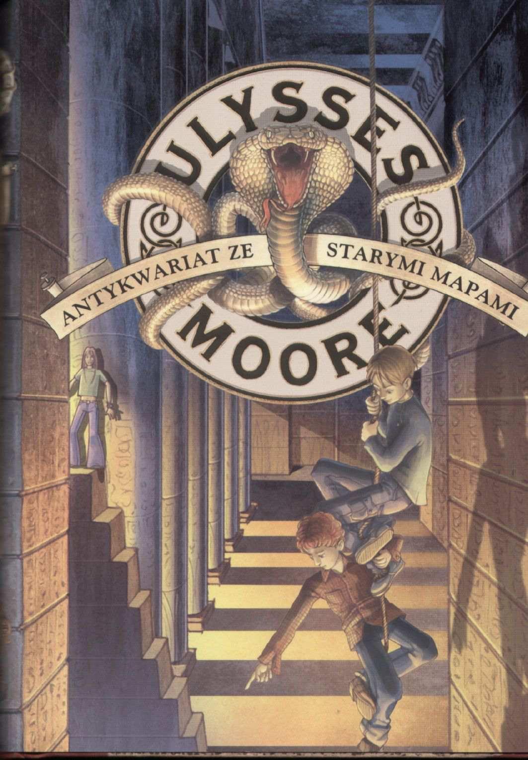 Ulysses Moore. Tom 2. Antykwariat ze starymi mapami - Ebook (Książka na Kindle) do pobrania w formacie MOBI