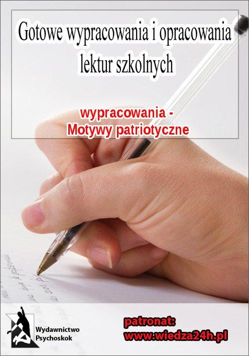 Wypracowania - Motywy patriotyczne - Ebook (Książka na Kindle) do pobrania w formacie MOBI