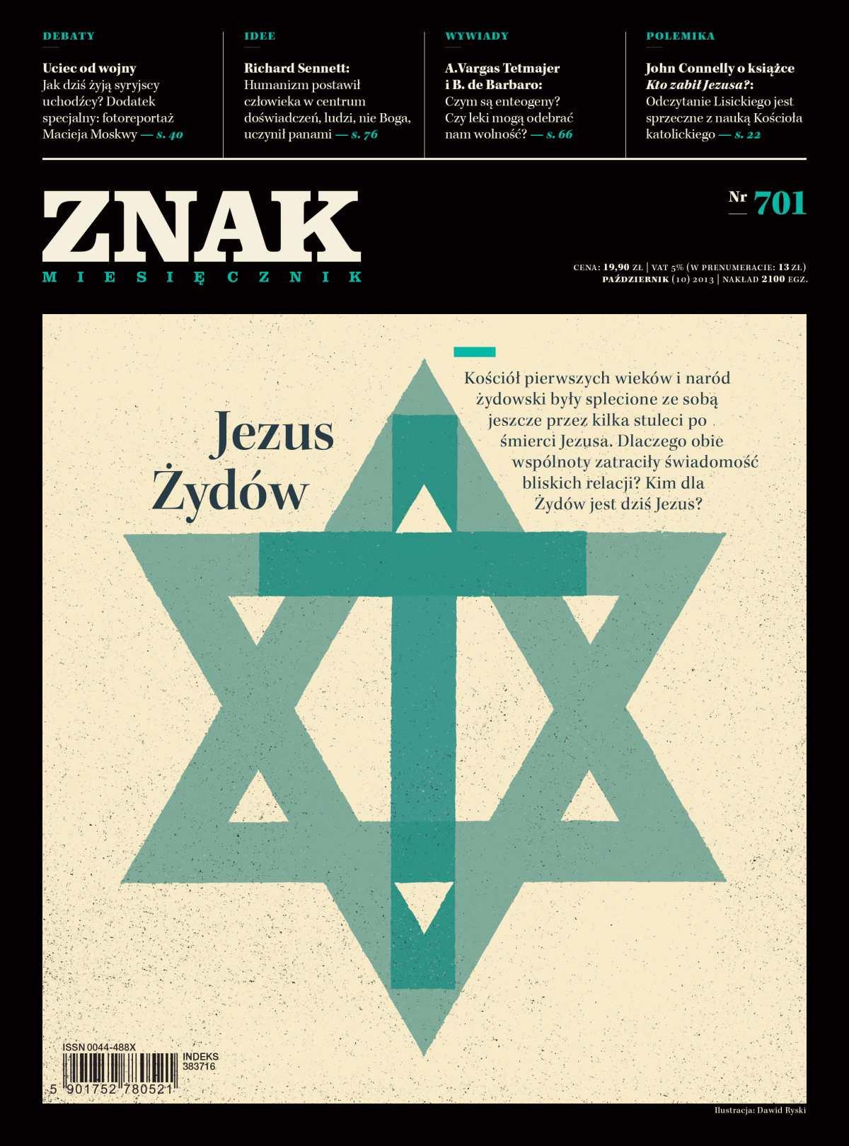 Miesięcznik Znak. Październik 2013 - Ebook (Książka PDF) do pobrania w formacie PDF