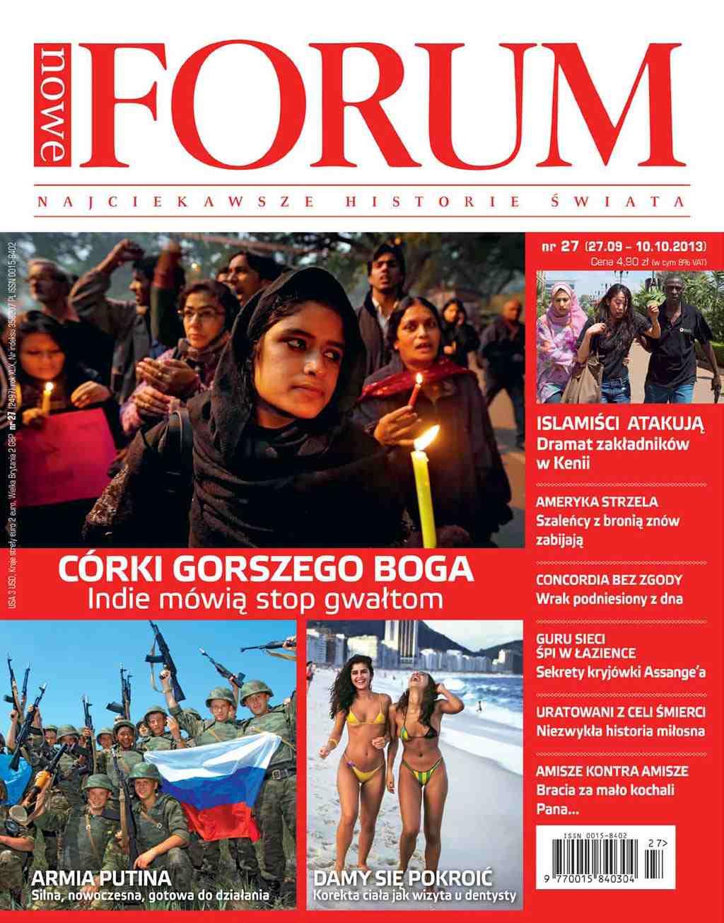 Forum nr 27/2013 - Ebook (Książka PDF) do pobrania w formacie PDF