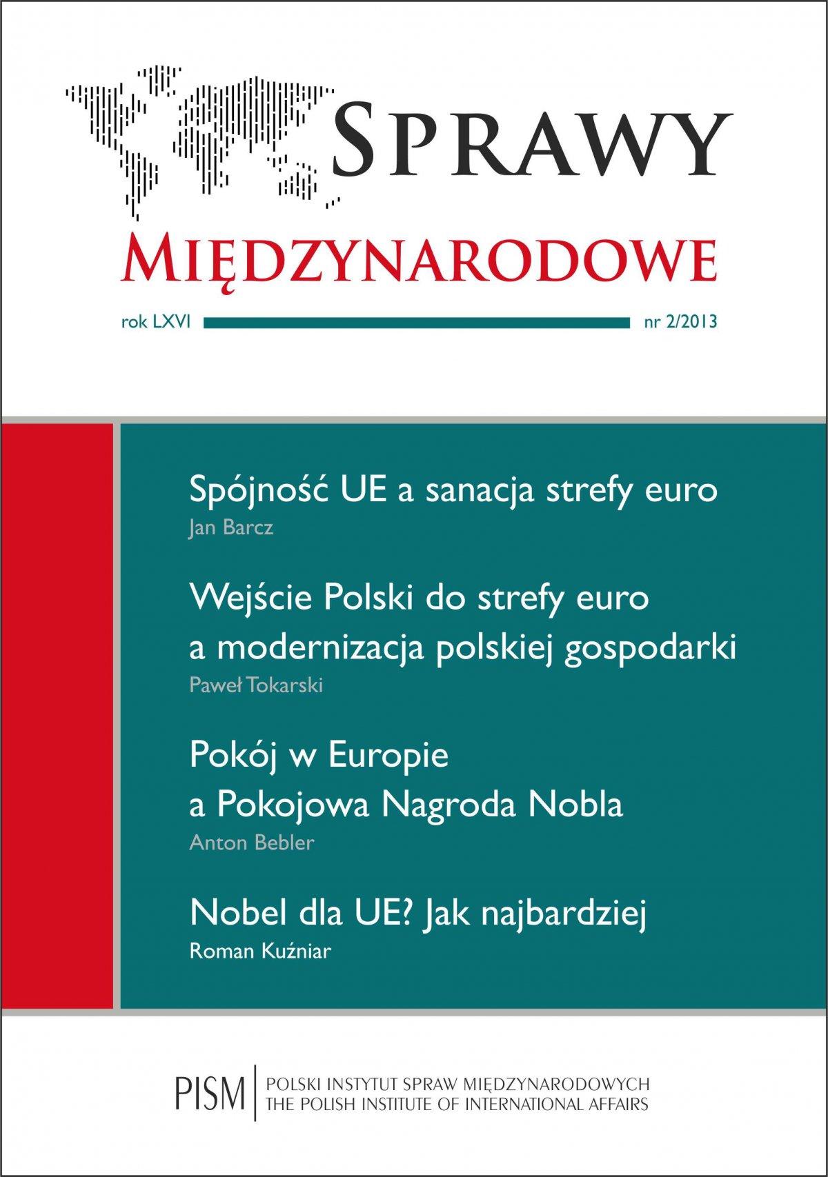 Sprawy Międzynarodowe 2/2013 - Ebook (Książka PDF) do pobrania w formacie PDF