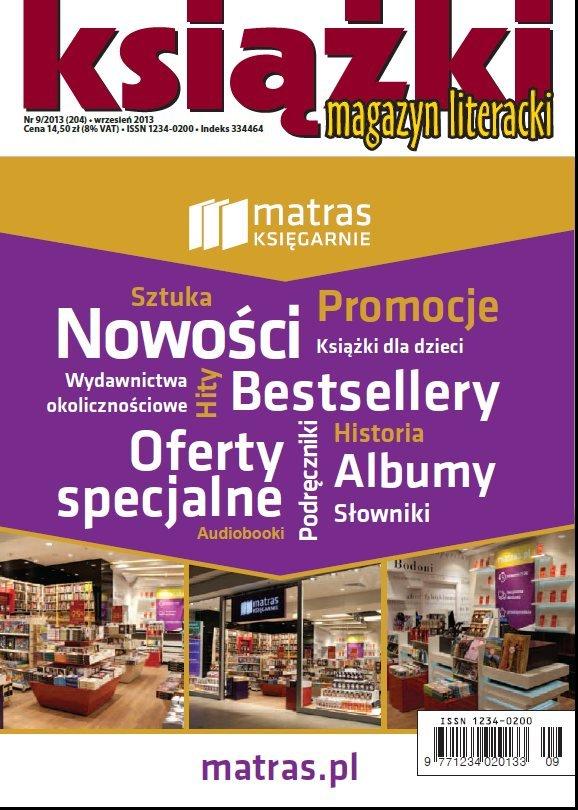 Magazyn Literacki KSIĄŻKI nr 9/2013 - Ebook (Książka PDF) do pobrania w formacie PDF