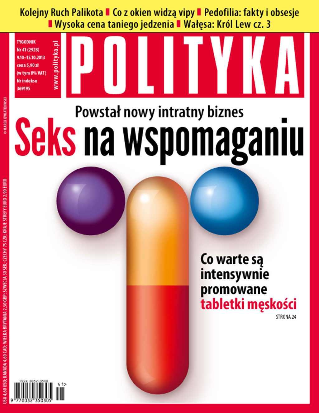 Polityka nr 41/2013 - Ebook (Książka PDF) do pobrania w formacie PDF