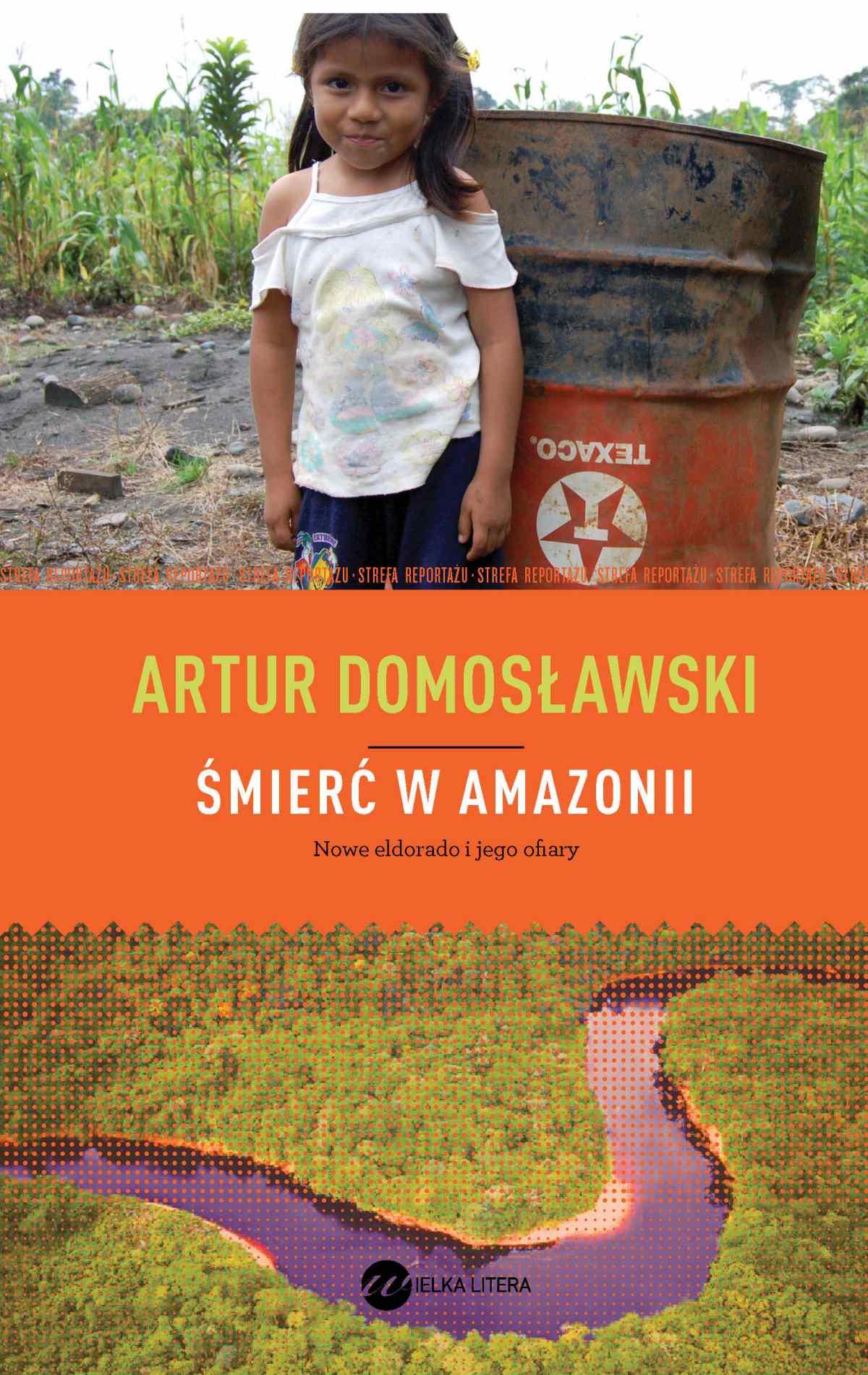 Śmierć w Amazonii - Ebook (Książka EPUB) do pobrania w formacie EPUB