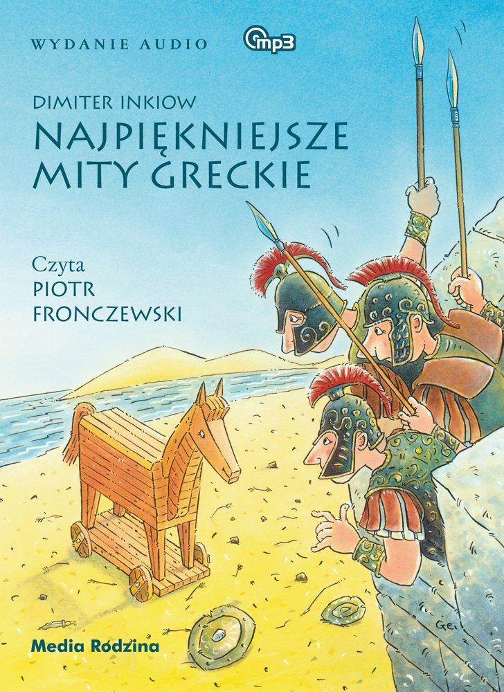 Najpiękniejsze mity greckie - Audiobook (Książka audio MP3) do pobrania w całości w archiwum ZIP