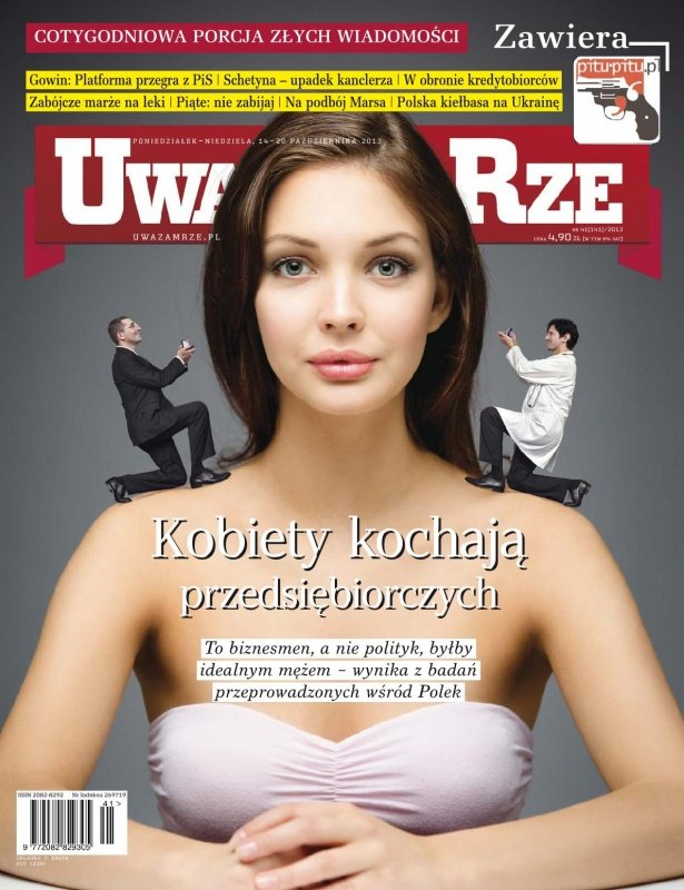 """""""Uważam Rze. Inaczej pisane"""" nr 41/2013 - Ebook (Książka PDF) do pobrania w formacie PDF"""