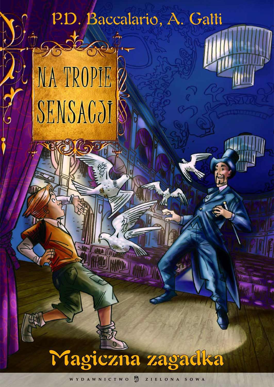 Magiczna zagadka - Ebook (Książka na Kindle) do pobrania w formacie MOBI