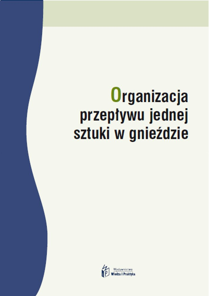 Organizacja przepływu jednej sztuki w gnieździe - Ebook (Książka PDF) do pobrania w formacie PDF