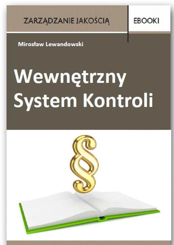 Wewnętrzny System Kontroli - Ebook (Książka PDF) do pobrania w formacie PDF