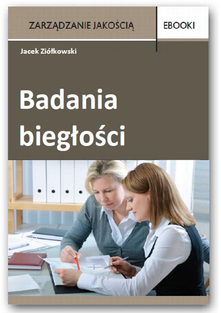 Badania biegłości - Ebook (Książka PDF) do pobrania w formacie PDF