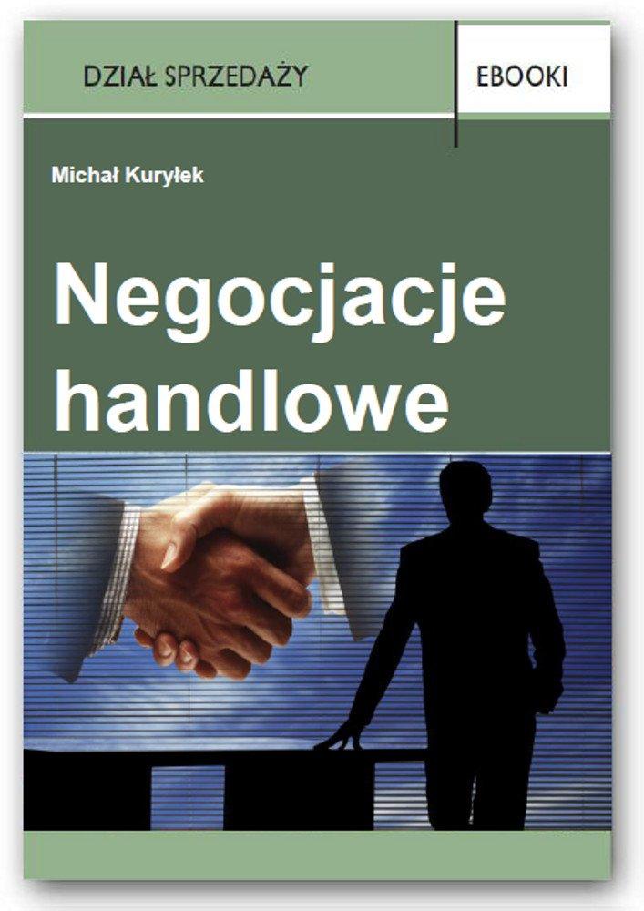 Negocjacje handlowe - Ebook (Książka PDF) do pobrania w formacie PDF