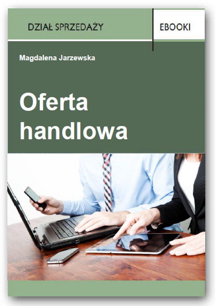 Oferta handlowa - Ebook (Książka PDF) do pobrania w formacie PDF
