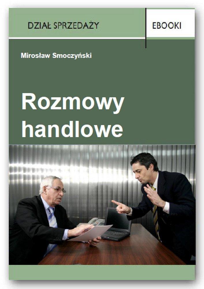 Rozmowy handlowe - Ebook (Książka PDF) do pobrania w formacie PDF