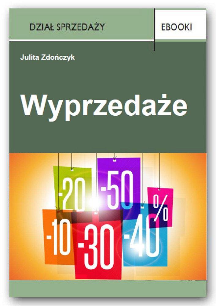 Wyprzedaże - Ebook (Książka PDF) do pobrania w formacie PDF
