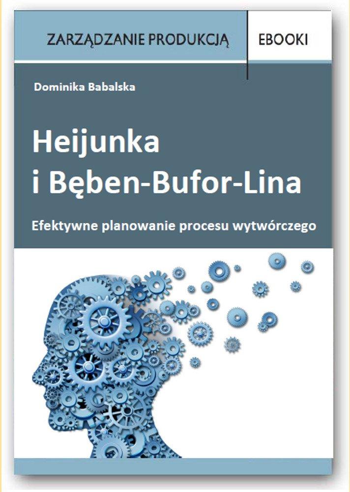 Efektywne planowanie procesu wytwórczego - Heijunka i Bęben-Bufor-Lina - Ebook (Książka PDF) do pobrania w formacie PDF