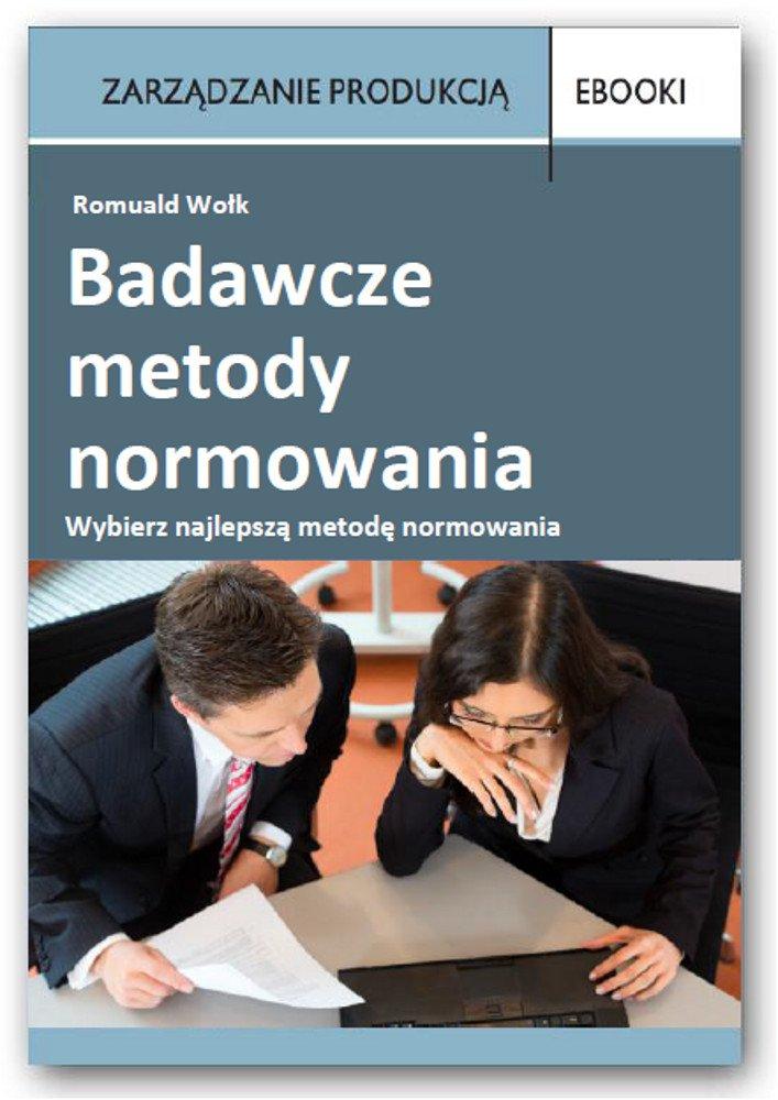 Badawcze metody normowania - Ebook (Książka PDF) do pobrania w formacie PDF