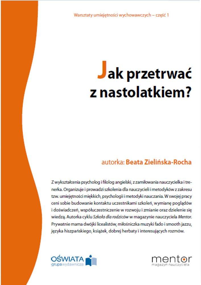 Jak przetrwać z nastolatkiem? - Ebook (Książka PDF) do pobrania w formacie PDF