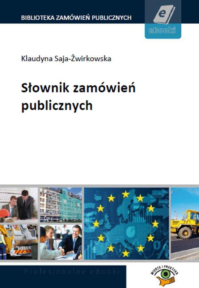 Słownik zamówień publicznych - Ebook (Książka PDF) do pobrania w formacie PDF