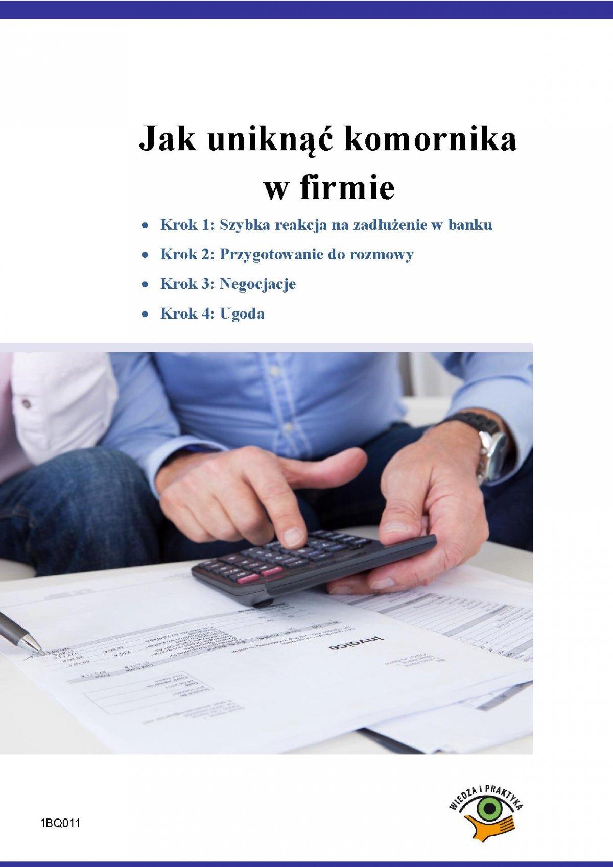 Jak uniknąć komornika w firmie - Ebook (Książka PDF) do pobrania w formacie PDF