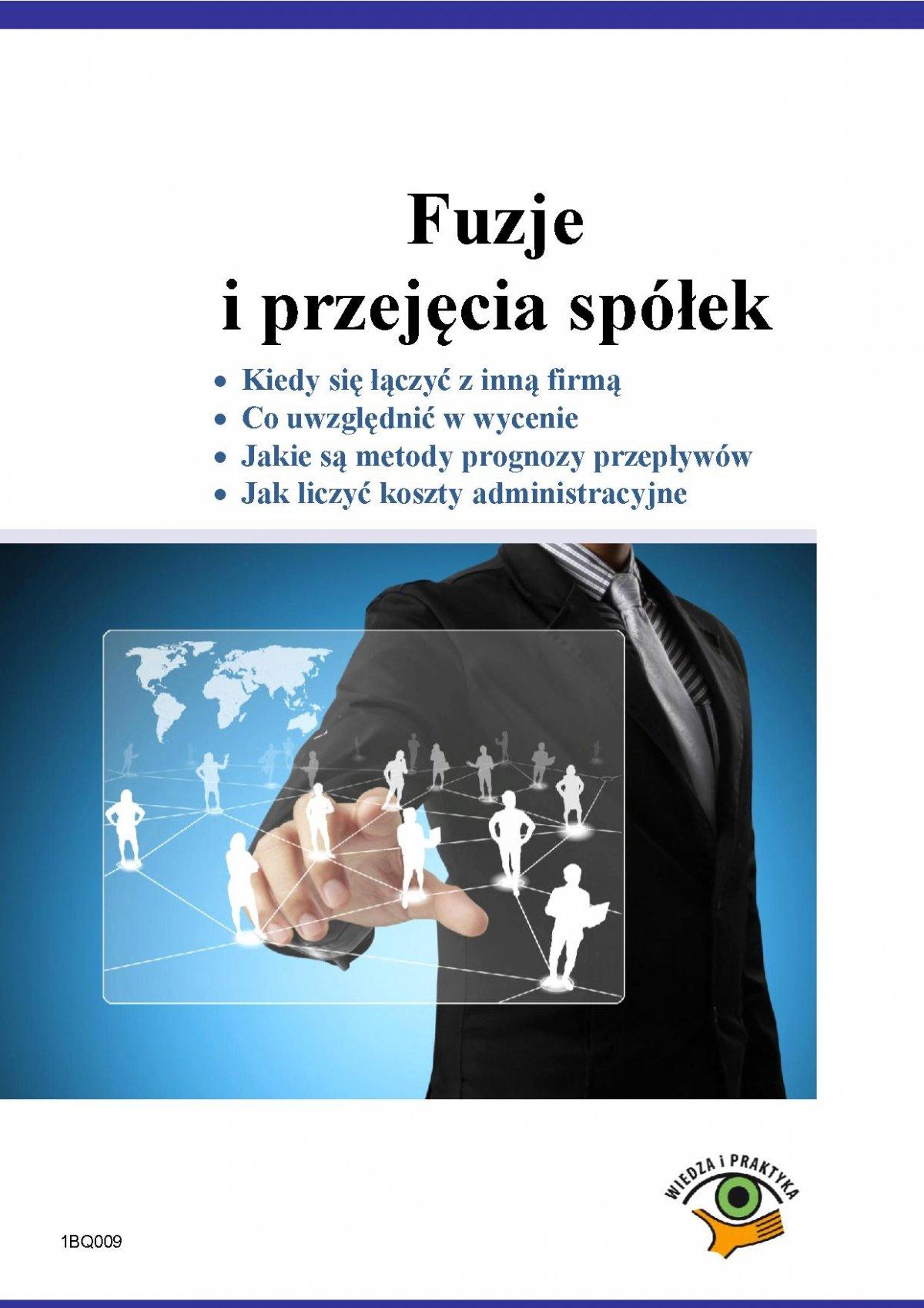 Fuzje i przejęcia spółek - Ebook (Książka PDF) do pobrania w formacie PDF