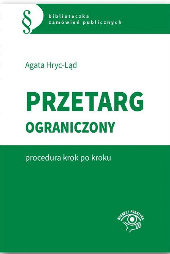 Przetarg ograniczony - procedura krok po kroku - Ebook (Książka PDF) do pobrania w formacie PDF