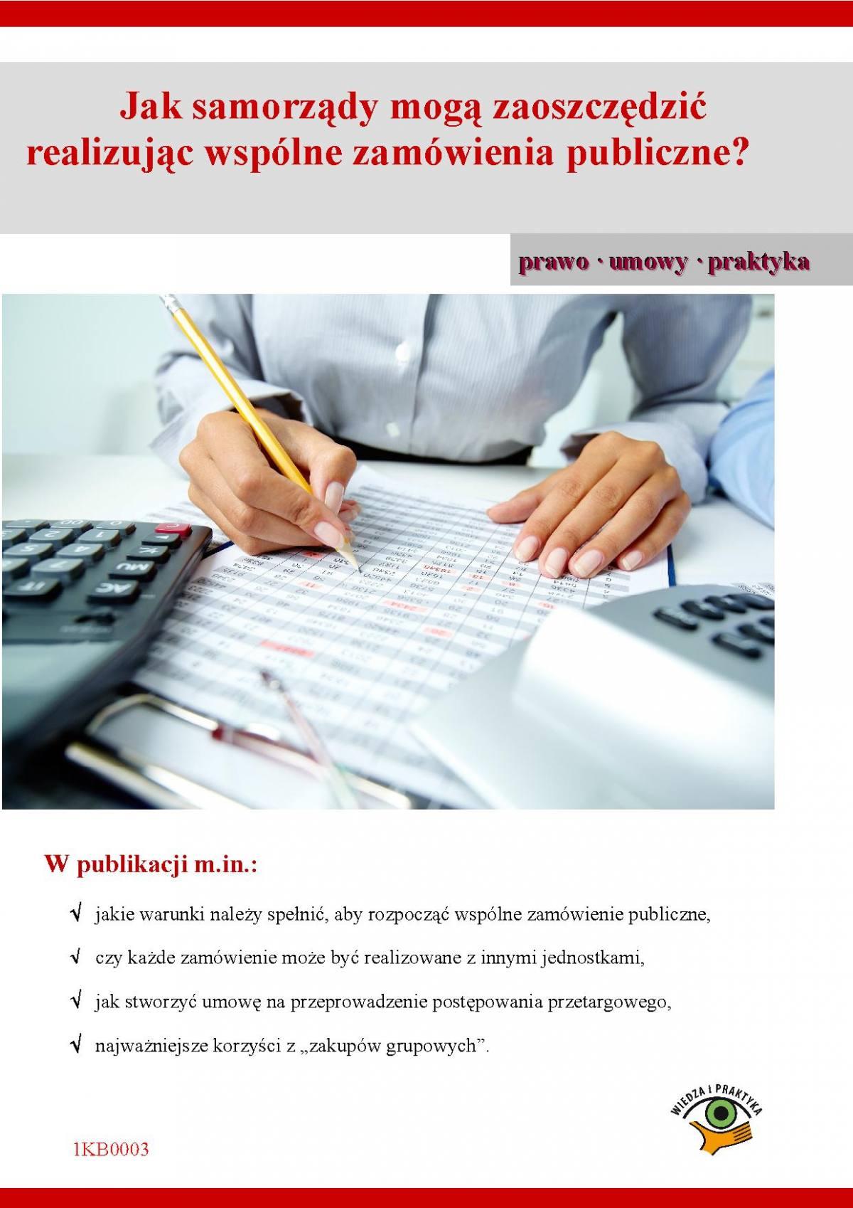Jak samorządy mogą zaoszczędzić realizując wspólne zamówienia publiczne - Ebook (Książka PDF) do pobrania w formacie PDF