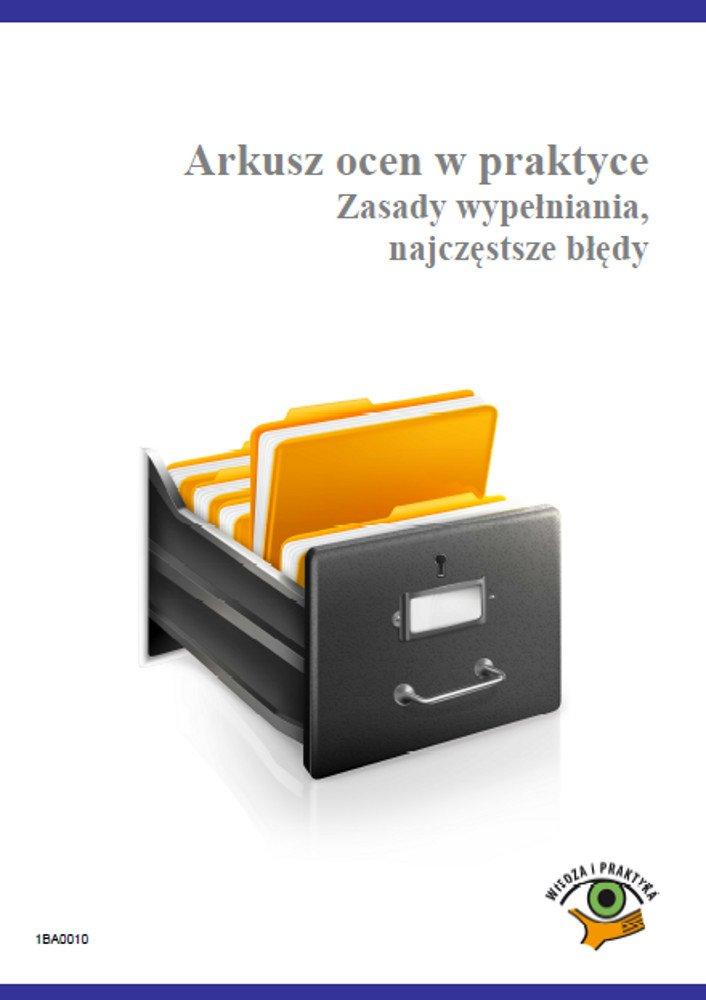 Arkusz ocen w praktyce. Zasady wypełniania, najczęstsze błędy - Ebook (Książka PDF) do pobrania w formacie PDF