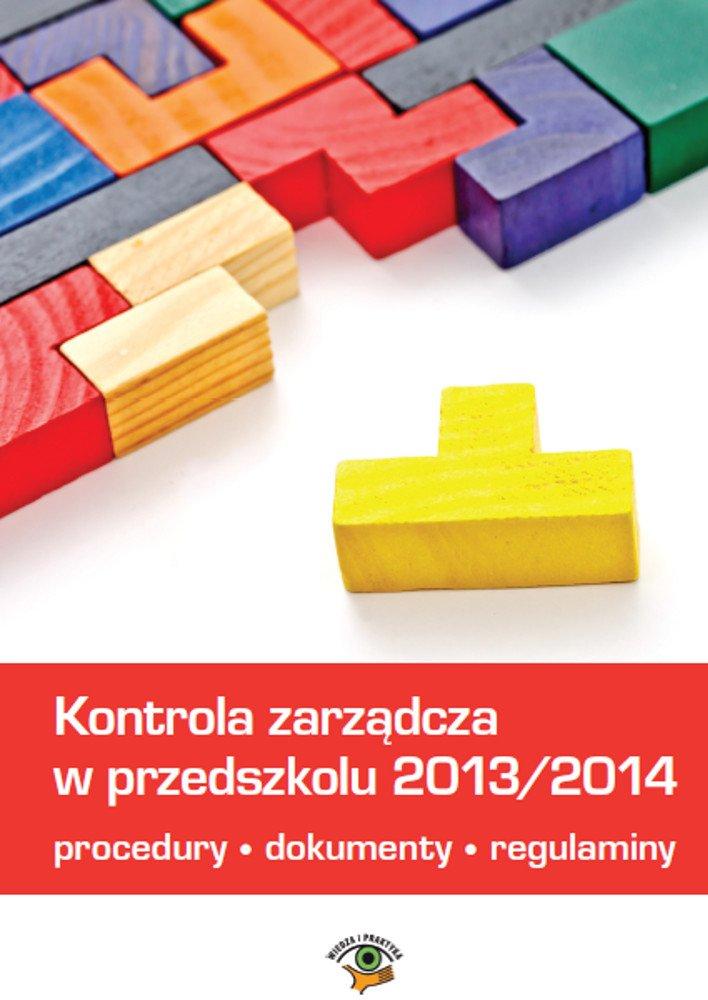 Kontrola zarządcza w przedszkolu - Ebook (Książka PDF) do pobrania w formacie PDF