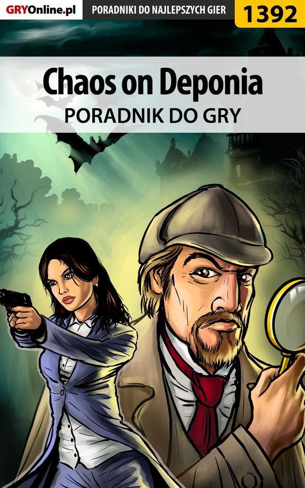 Chaos on Deponia - poradnik do gry - Ebook (Książka PDF) do pobrania w formacie PDF