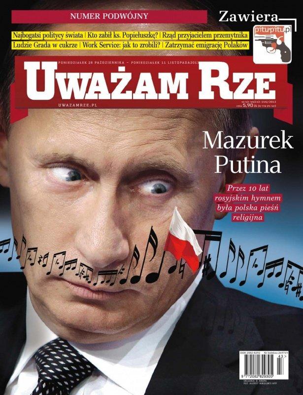 """""""Uważam Rze. Inaczej pisane"""" nr 43-44/2013 - Ebook (Książka PDF) do pobrania w formacie PDF"""