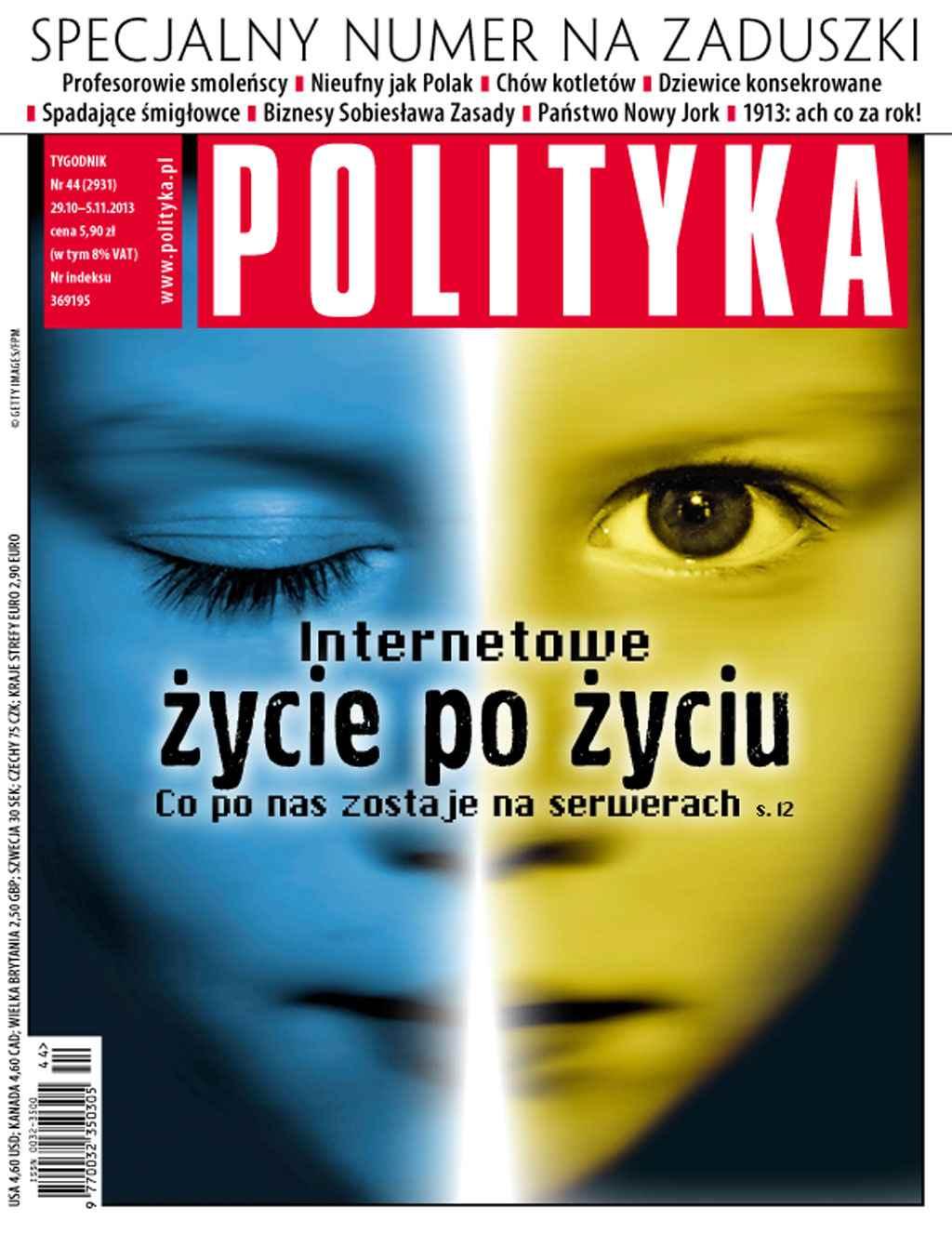 Polityka nr 44/2013 - Ebook (Książka PDF) do pobrania w formacie PDF